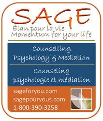 Sage ad