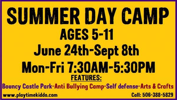 PlayTime Kiddo Summer Day Camp ages 5-11 @ PlayTime Kiddo | Moncton | New Brunswick | Canada